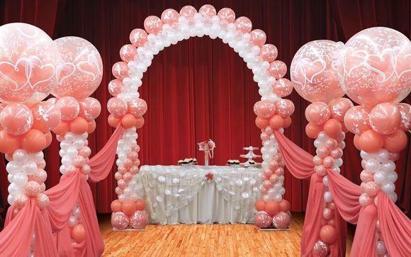 Аэродизайн на свадьбу