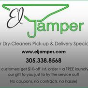 El Jamper Mobile Dry Cleaners Delivery Services, Miami FL
