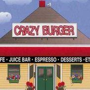 Crazy Burger Cafe & Juice Bar, Narragansett RI