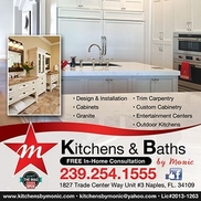 Kitchen U0026 Baths By Monic. Naples FL