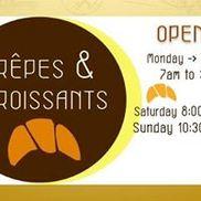 Crepes & croissants, Columbia SC