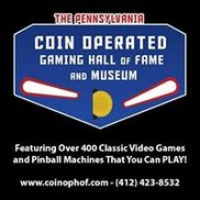 Pennsylvania Coin Operated Gaming Hall Of Fame & Museum, Aliquippa PA