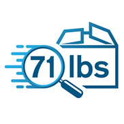 71 lbs - Fast & Automated Shipping Refunds, Fort Lauderdale FL