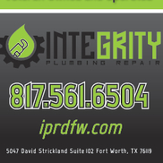Integrity Plumbing Repair, Fort Worth TX