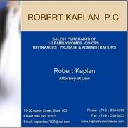 Robert Kaplan PC, Forest Hills NY