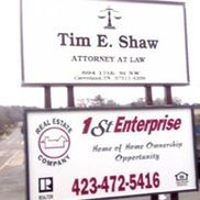 Tim E. Shaw, Attorney At Law, Cleveland TN