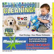 Magic Touch Carpet Cleaning & Water Damage Restoration, Saukville WI