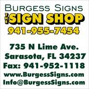 Burgess Signs, Inc., Sarasota FL
