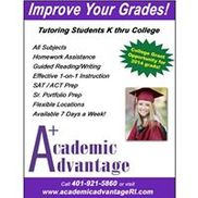 Academic Advantage, Warwick RI