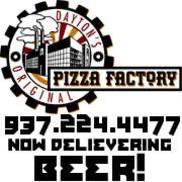 Pizza Factory, Dayton's Original, Dayton OH