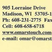 Omar's Touch Therapy Inc, Madison WI