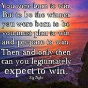 1465508502 to be the winner you were born to be you must plan to win