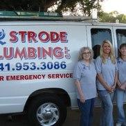 Strode Plumbing LLC (941) 953-3086, Sarasota FL