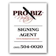 Pro-Biz Notary, Albuquerque NM
