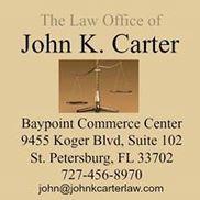Law Office of John K. Carter, Saint Petersburg FL