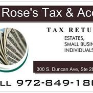 Rose's Tax and Accounting Service, Clearwater FL