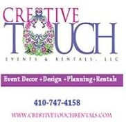 Cre8Tive Touch Events & Rentals, LLC, Baltimore MD
