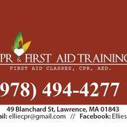 Ellie's CPR & First Aid Training, LLC, Lawrence MA