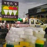 Van's Snowballs, New Orleans LA
