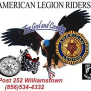 President @ Legion Riders Post 252 / President @Bikers Against Bullying 212 SJ , President@ Ride 2 Recovery 4 PTSD , MINISTER, BIGWHITE CUSTOMS , Williamstown NJ