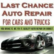 Last Chance Auto Repair For Cars Trucks, Plainfield IL