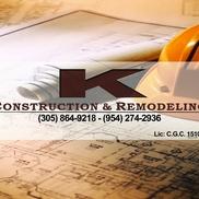 K Construction & Development, Hallandale Beach FL