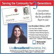 Lisa Broadbent Insurance, Inc., Newark DE