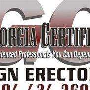 Georgia Certified Sign Erectors, Monroe GA