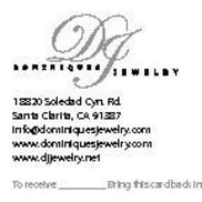 Dominiques Jewelry llc, Santa Clarita CA