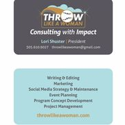 Throw Like a Woman, Consulting with Social Impact, Philadelphia PA