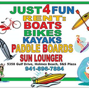 Rent JUST 4 FUN, Holmes Beach FL