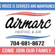Airmarc heating and cooling, Monroe NC