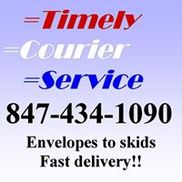 Timely Courier Service, Elk Grove Village IL
