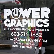 Power Graphics, Derry NH