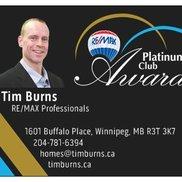 Tim Burns RE/MAX Professionals, Winnipeg MB