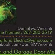Daniel M. Vincenti Electrical and Garage Doors;   Total Home Maintenance Services, Philadelphia PA