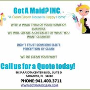Got A Maid Inc, Sarasota FL