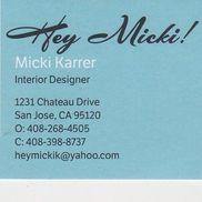 Micki Karrer Hey Micki Interior Design. San Jose CA