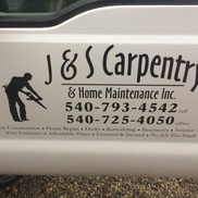 J&S Carpentry INC, Roanoke VA