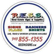 RESS Real Estate Signs & Supplies, Laguna Hills CA