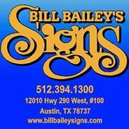 Bill Bailey's Signs, Austin TX