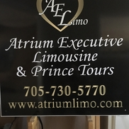 Atrium Executive Limousine & Prince Tours, Barrie ON