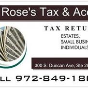 Rose's Tax and Accounting Service, Washington DC
