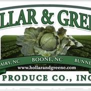 Hollar & Greene Produce Co., Inc., Boone NC