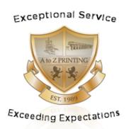 A to Z Printing, Irvine CA