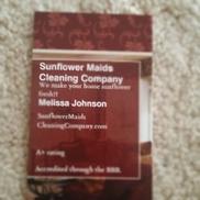 Sunflower Maids Cleaning Company, Cedar rapids IA