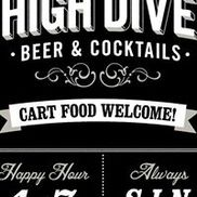 The High Dive, Portland OR