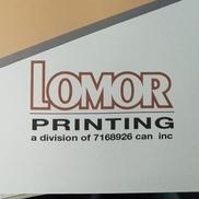 Lomor Printing Inc., Ottawa ON