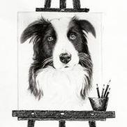 Debbie Radicchi Pet Portraits in Pencil, Philadelphia PA