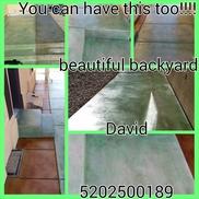 Machado Acid Concrete Stain And Epoxy Coatings, Tucson AZ